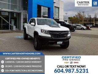 Used 2020 Chevrolet Colorado ZR2 WIRELESS CHARGING - HEATED POWER FRONT SEATS for sale in North Vancouver, BC