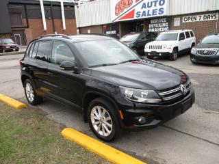 Used 2013 Volkswagen Tiguan Comfortline ~ AWD ~ PANO ROOF ~ LEATHER ~ WINTERS for sale in Toronto, ON