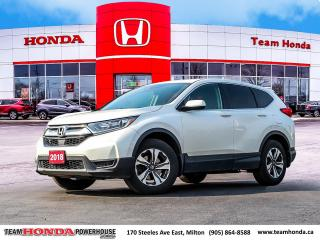 Used 2018 Honda CR-V LX--1 Owner--No Accidents--Backup Camera--Heated Seats--AWD for sale in Milton, ON