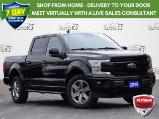 Used 2019 Ford F-150 Lariat CREW   5.5 BOX   2.7L   NAV   TAILGATE STEP for sale in Waterloo, ON