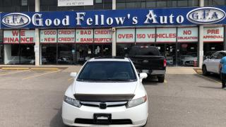 Used 2008 Honda Civic LX MODEL, MOON ROOF, FWD, 1.8L 4CYL, ALLOY for sale in Toronto, ON