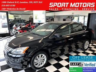Used 2015 Nissan Sentra SV+Camera+Heated Seats+New Tires+A/C+ACCIDENT FREE for sale in London, ON