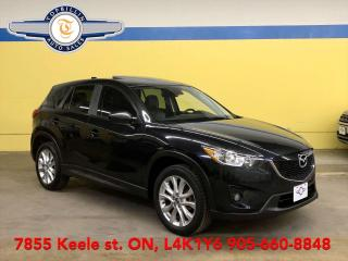 Used 2014 Mazda CX-5 GT AWD Navi - Leather - Sunroof - 2 Years Warranty for sale in Vaughan, ON