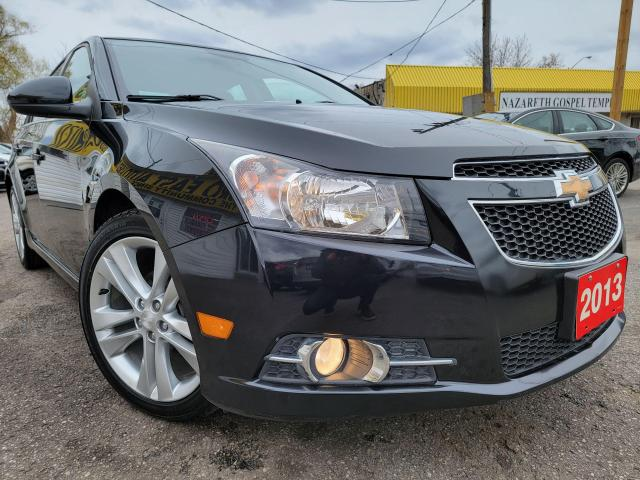 2013 Chevrolet Cruze LT Turbo/LEATHER/CAMERA/B.TOOTH/TOUCHSCREEN/ALLOYS