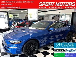Used 2018 Ford Mustang ECOBOOST+Camera+Bluetooth+Cruise+ACCIDENT FREE for sale in London, ON