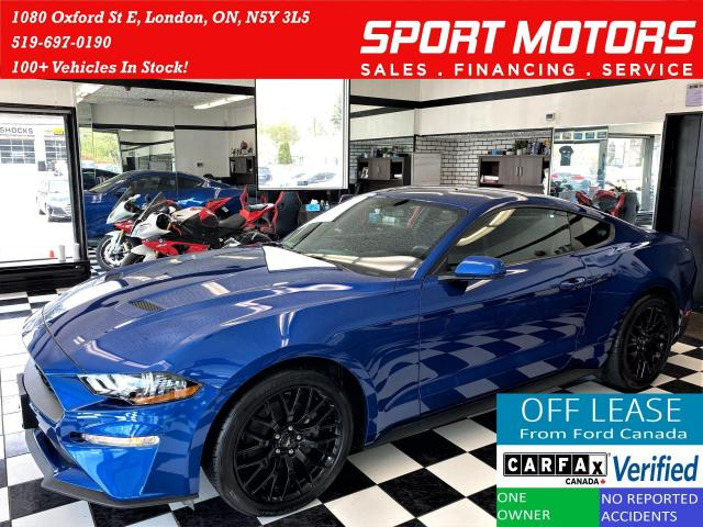 2018 Ford Mustang ECOBOOST+Camera+Bluetooth+Cruise+ACCIDENT FREE