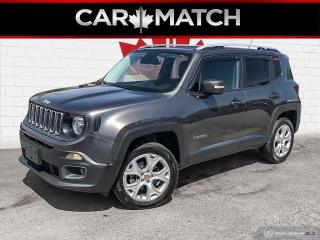 Used 2017 Jeep Renegade LIMITED / AWD / NO ACCIDENTS for sale in Cambridge, ON