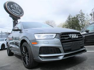Used 2018 Audi Q3 2.0 TFSI Quattro Technik Tiptronic for sale in Burlington, ON