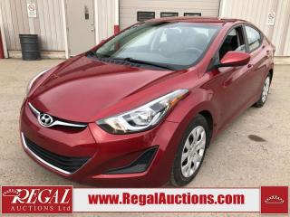 Used 2015 Hyundai Elantra GL 4D Sedan 1.8L for sale in Calgary, AB