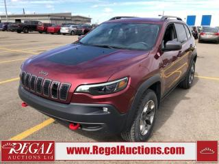 Used 2019 Jeep Cherokee Trailhawk 4D Utility 4WD 3.2L for sale in Calgary, AB