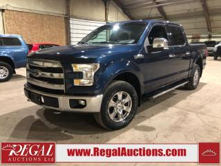 Used 2016 Ford F-150 LARIAT SuperCrew 4WD for sale in Calgary, AB
