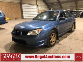 Used 2007 Subaru Impreza 4D Sedan AWD for sale in Calgary, AB