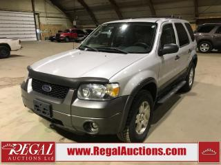 Used 2006 Ford Escape XLT 4D Utility FWD for sale in Calgary, AB