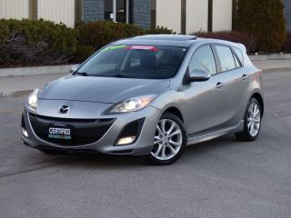 Used 2010 Mazda MAZDA3 GT,2.5,LEATHER,SUNROOF,LOADED,NO-ACCIDENT,CERTIFIE for sale in Mississauga, ON