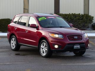 Used 2011 Hyundai Santa Fe AWD,LIMITED,LEATHER,NO-ACCIDENT,CERTIFIED,LOADED for sale in Mississauga, ON
