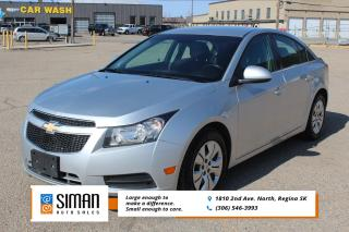 Used 2014 Chevrolet Cruze 1LT GUARANTEED APPROVAL for sale in Regina, SK