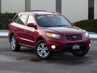 Used 2010 Hyundai Santa Fe AWD,SPORT,LEATHER,LOADED,CERTIFIED,*NO-ACCIDENTS* for sale in Mississauga, ON