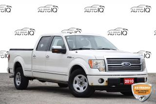 Used 2010 Ford F-150 Lariat 5.4L V8 | MOONROOF | NAV | LEATHER SEATS for sale in Kitchener, ON