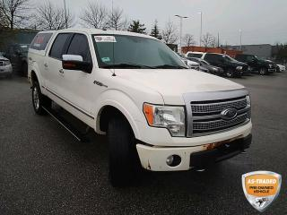 Used 2009 Ford F-150 Platinum | MEMORY AND POWER SEAT | HEATED SEATS | LEATHER | for sale in Barrie, ON