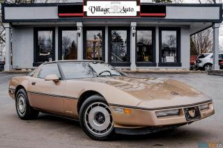 Used 1985 Chevrolet Corvette Targa Top for sale in Ancaster, ON