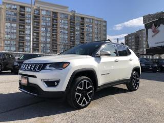 Used 2017 Jeep Compass Limited No Accidents, Apple Car/Android Auto, Lane Departure, Rear View Camera for sale in North York, ON