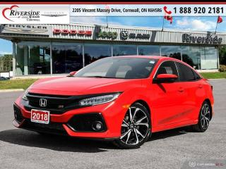 Used 2018 Honda Civic SI for sale in Cornwall, ON