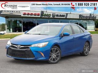 Used 2016 Toyota Camry SE for sale in Cornwall, ON