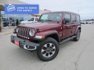New 2021 Jeep Wrangler Unlimited Sahara for sale in Perth, ON