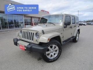 Used 2017 Jeep Wrangler Unlimited Sahara for sale in Perth, ON