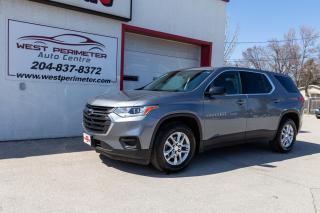 Used 2018 Chevrolet Traverse FWD LS *BACKUP CAM *BLUETOOTH* KEYLESS START for sale in Winnipeg, MB