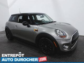 Used 2016 MINI Cooper Hardtop - Toit Panoramique - Bluetooth - Climatiseur for sale in Laval, QC