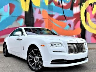 Used 2020 Rolls Royce Wraith WRAITH|WHITE LEATEHR INTERIOR|V12|FULLY LOADED WITH LUXURY! for sale in Brampton, ON