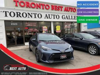 Used 2018 Toyota Corolla XSE|NO ACCIDENT|LOW KM|1OWNER|LEATHER|SUNROOF|NAVI|DASH CAM| for sale in Toronto, ON
