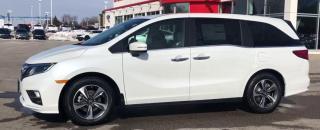 Used 2018 Honda Odyssey Exl-Navi|Local|Htd Lthr|Rmt Start|Sensing for sale in Brandon, MB