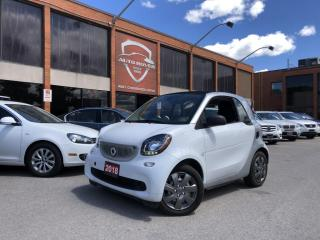 Used 2018 Smart fortwo PASSION ELECTRIC NAVI CAMERA BLUETOOTH LED's for sale in North York, ON