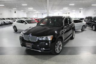 Used 2017 BMW X3 XDRIVE28i NO ACCIDENTS I REAR CAM I PUSH START I HEATED SEAT for sale in Mississauga, ON