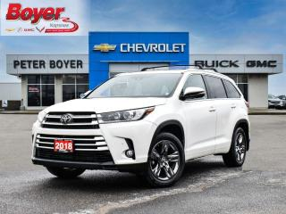 Used 2018 Toyota Highlander Limited LIMITED for sale in Napanee, ON