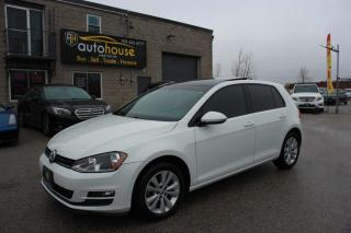 Used 2015 Volkswagen Golf FWD/HB/6-SPEED AUTOMATIC/REARVIEW CAMERA/SUNROOF/LEATHER for sale in Newmarket, ON