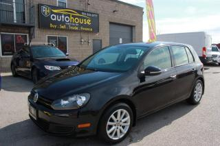 Used 2013 Volkswagen Golf 5-SPEED MANUEL/HEATED SPORT SEATS/TRACTION CONTROL/ALLOY for sale in Newmarket, ON