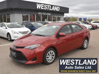 Used 2017 Toyota Corolla LE for sale in Pembroke, ON