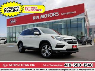 Used 2016 Honda Pilot EX-L| 8 PASS |NAV| SUNROOF| BU CAM | HTD SEATS| BT for sale in Georgetown, ON