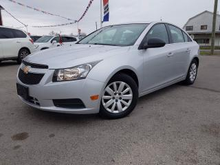 Used 2011 Chevrolet Cruze 2LS No Accidents! Clean low mileage car! for sale in Dunnville, ON