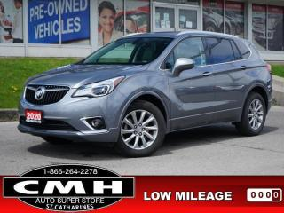 Used 2020 Buick Envision Essence  CAM LEATH P/SEATS HTD-SEATS 18-AL for sale in St. Catharines, ON
