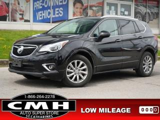 Used 2020 Buick Envision Essence  CAM LEATH HTD-SEATS P/GATE 18-AL for sale in St. Catharines, ON