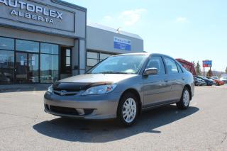 Used 2004 Honda Civic LX Sedan AT with Front Side Airbags for sale in Calgary, AB