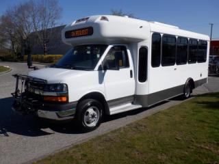Used 2013 Chevrolet Express 20 Passenger Bus Diesel With Wheelchair Accessibility for sale in Burnaby, BC