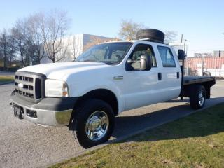Used 2007 Ford F-350 SD Flat Deck 9 foot  Crew Cab 4WD for sale in Burnaby, BC