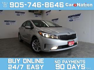 Used 2017 Kia Forte EX   TOUCHSCREEN   REAR CAM   OPEN SUNDAYS! for sale in Brantford, ON