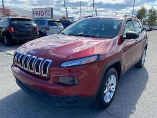 Used 2014 Jeep Cherokee SPORT 4WD for sale in Ottawa, ON