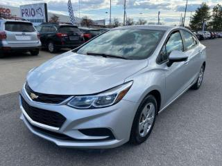 Used 2016 Chevrolet Cruze 4dr Sdn Man LS for sale in Ottawa, ON